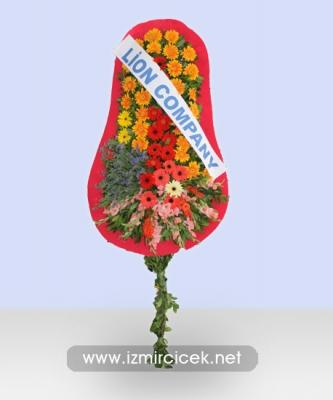 İzmir Çelenk 80 Çiçek