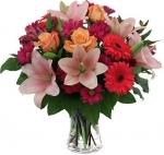 Karşık Mevsim Çiçeği Buketi