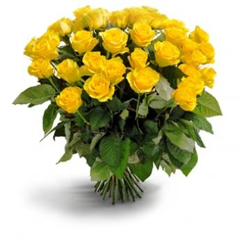 Sarı Gül Buketi 30 Adet
