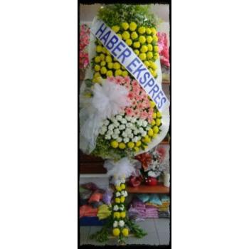 Üç Renkli Gelin Duvağı 170 Çiçek 2.5 Metre