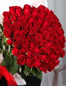 İzmir Çiçek 101 Gül Buketi
