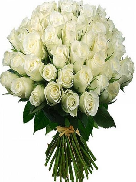 İzmir Çiçek 41 Beyaz Gül Buketi