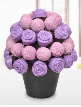 Purple Violet Karışık Lezzet Çiçekleri