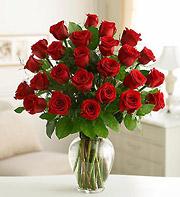 31 Gül Vazoda Kırmızı Gül Çiçek
