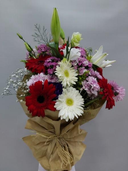 Çiçek Buketi Renkli Çiçekler