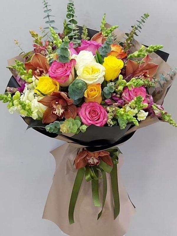 Vintage Çiçek Buketi