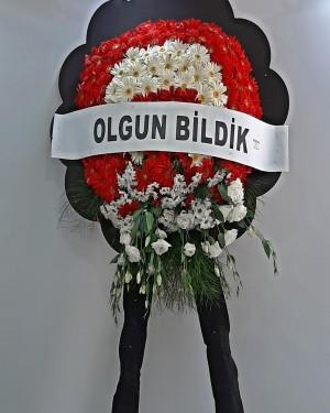 İzmir çelenk tekli model